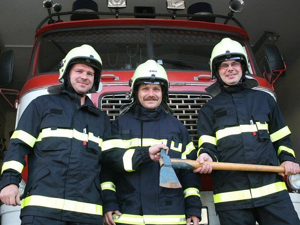 Dobrovolní hasiči. Ilustrační foto