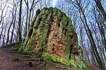 Čertův kámen, přírodní památka.
