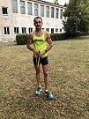 Milan Zvonek v čachtickém půlmaratonu 2018