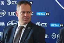 Na snímku generální manažer klubu Martin Hosták.