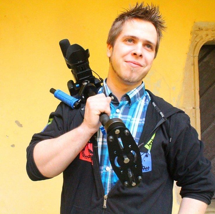 Natáčení videoklipu skupiny Imortela na hradě v Malenovicích