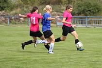 Fotbalová divize žen Podivín - Holešovské holky