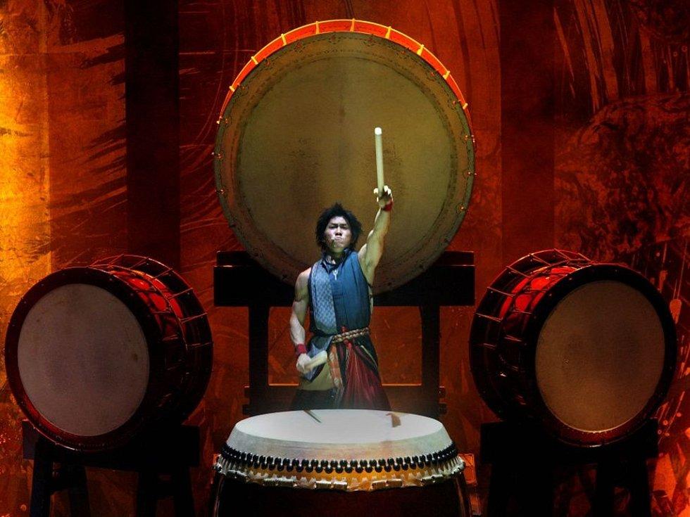 Japonská hudební skupina Yamato vystoupila ve zlínském kongresovém centru 10 března.