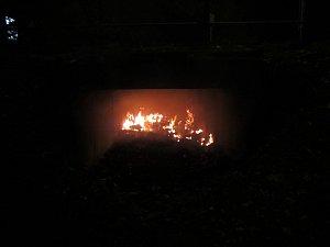 Požár matrace
