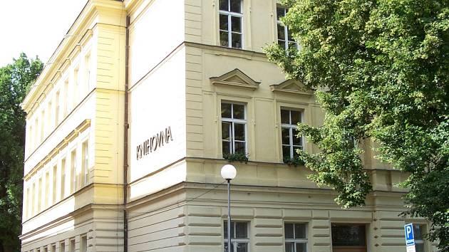 Budova krajské knihovny Františka Bartoše