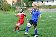 Fotbalový krajský přebor žen - Brumov - Žalkovice 5:0