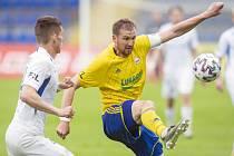 Kapitán Zlína Tomáš Poznar se proti Liberci střelecky neprosadil. Ševci hráli se Slovanem 0:0. Foto: Jaroslav Appeltauer