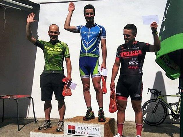 foto Jiřího Hradila zMoravského poháru cyklistů Vidnavské okruhy 2018.