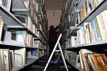 Sklad zlínské knihovny