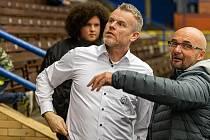 Martin Kotásek (nalevo) se krátce vyjádřil také o potenciálním pokračování kapitána Tomáše Žižky.