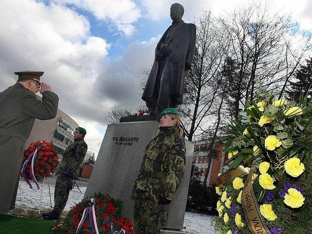 Pomník Tomáše Garrigue Masaryka ve Zlíně.