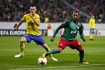 FC Zlin vs. FC Lokomotiv Moskva. 1. poločas
