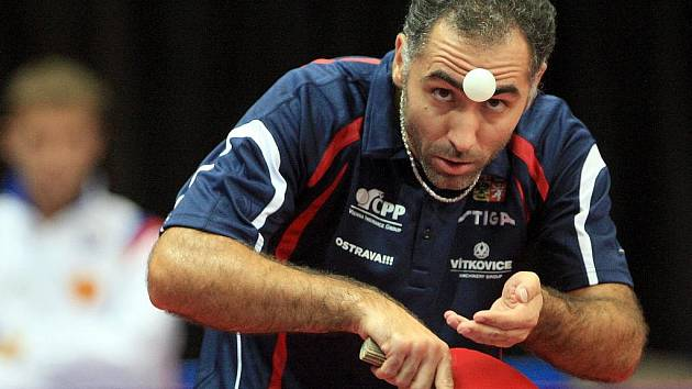 Stolní tenista Petr Korbel