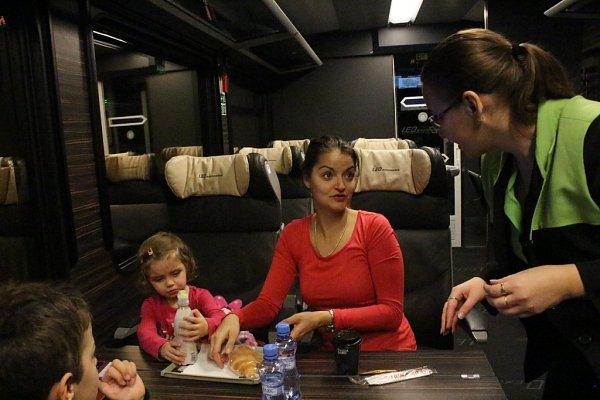 Leo Express poprvé přes Otrokovice do Prahy