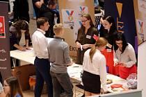 Veletrh pracovních příležitostí  BUSINESS DAY 2018 na UTB ve Zlíně.