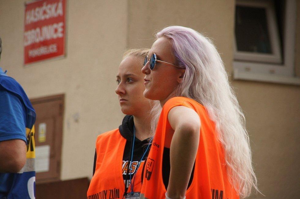 Dopolední kvalifikační zkouška na trase Pohořelice – Komárov