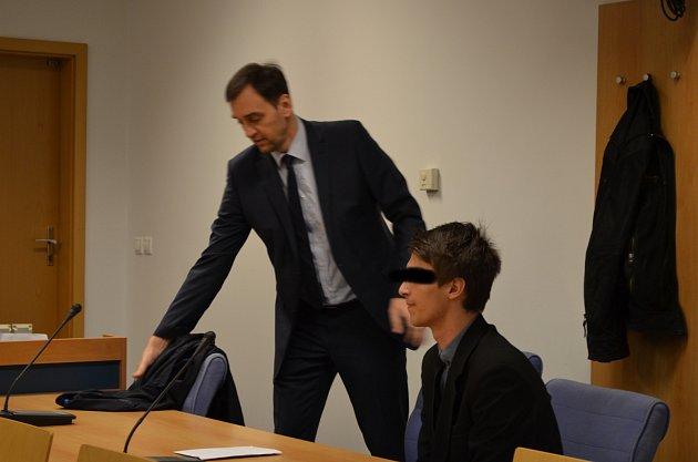 Obžalovaný Miroslav H. ze Slovácka u krajského soudu ve Zlíně