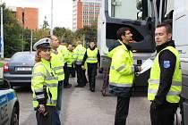 Dopravní akce - kontrola kamionů