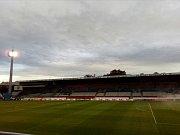 Stadion v Olomouci.
