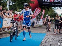 Petr Vabroušek na závodě v Praze, který se konal v sobotu 30. července 2016.