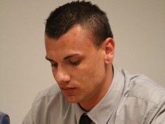 Obžalovaný Tomáš Zahradník u zlínského krajského soudu