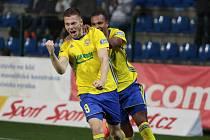 Zkušený osmadvacetiletý útočník Pavel Vyhnal si v sobotním zápase s Karvinou připsal třetí ligovou trefu. V nejvyšší soutěži skóroval po poprvé od února 2012.