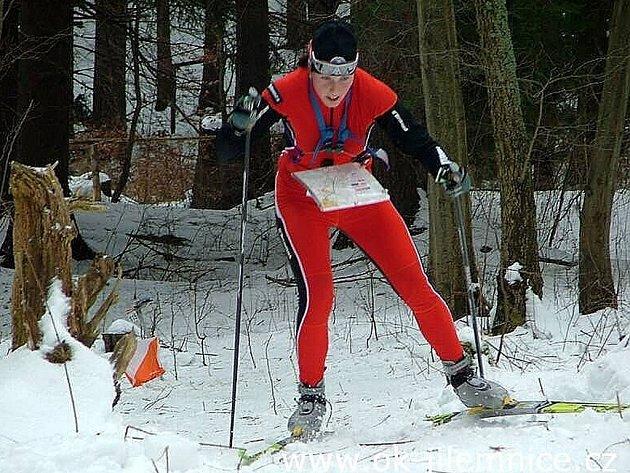 Hana Hančíková při tréninku