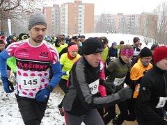 Běh na 2 míle ve Zlíně, únor 2018
