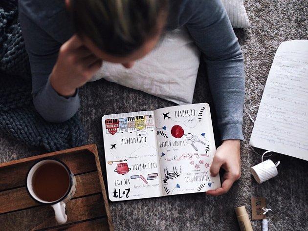 Diáře Doller nabízí neotřelý způsob každodenního plánování i cest za uskutečněním životních snů.