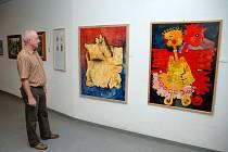Výtvarníci z Dubnice nad Váhom vystavují v Otrokovicích.