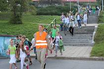 V pátek 16. září 2016 zlínská Základní škola Křiby podpořila Mezinárodní den bez aut.