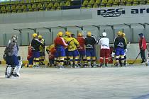 Hokejisté PSG Zlín zahájili druhou část přípravy na nadcházející extraligový ročník.