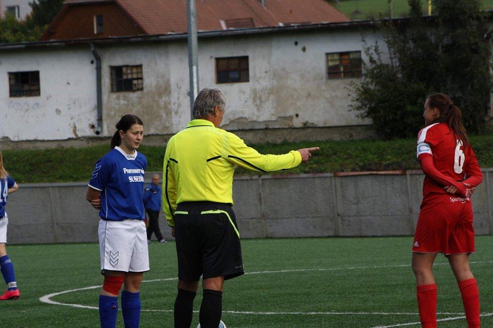 fotbalový krajský přebor žen Brumov- Říkovice