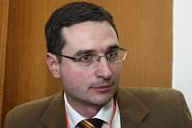 Evropské fórum mládeže v Luhačovicích - člen bruselského Výboru regionů Ondřej Benešík.