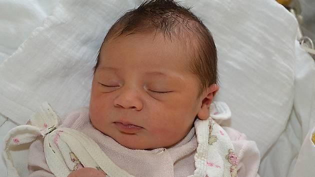 Agáta Juráňová z Holešova se narodila 22.2.2012 s mírou 49 cm a váhou 3690 g