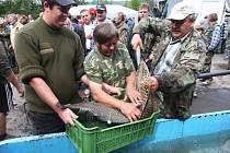 61. ročníku rybářských závodů v Luhačovicích