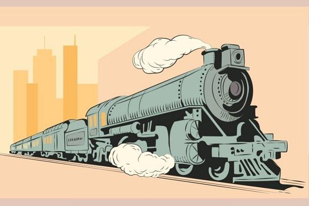 Výstava modelové železnice.