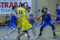 Prvoligový basketbalista Zlína David Nehoda.