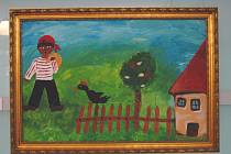 Výstavu s názvem Cikáni v malbách lze do 22. května spatřit ve 14. etáži Baťova mrakodrapu ve Zlíně.