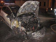 Ve Zlínském kraji došlo k několika požárům aut.