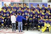 Fotografování hokejistů Aukro Berani Zlín