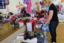 V sobotu 21. února 2015 se v sále taneční skupiny Beat Up Zlín konal bazárek dětského oblečení, obuvi i hraček.