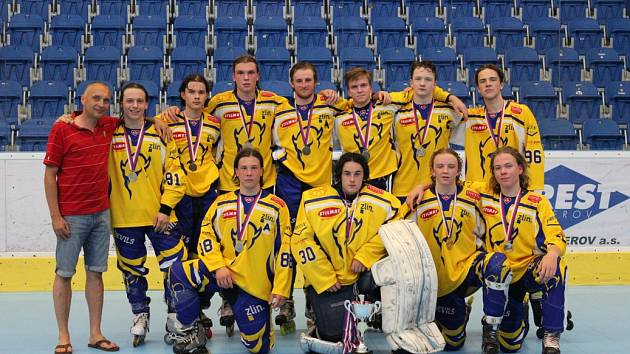 Finále extraligy juniorů v inline hokeji Přerov - Devils Zlín 6:2.