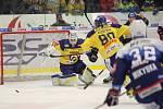 Berani Zlín (ve žlutém) proti Kometě Brno.