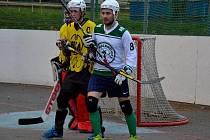 Hokejbal Moravská liga Malenovice-Třebíč