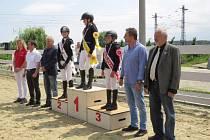 Oblastní mistrovství Zlínské oblasti ČJF vkategoriích skoky pony a skoky děti na velkých koních se uskutečnilo o víkendu vTlumačově