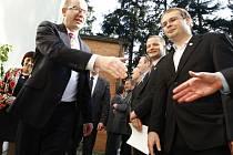 Premier Bohuslav Sobotka na návštěvě Zlínského kraje. Ilustrační foto