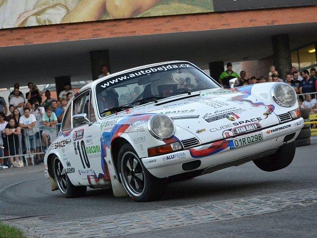 Star Rally Historic na 46.Barum Czech Rally Zlín