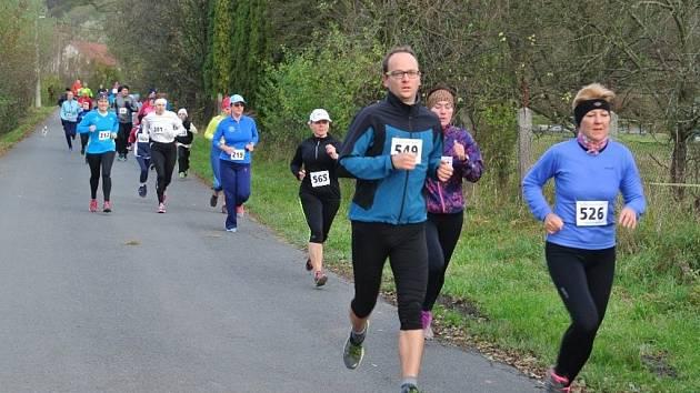 Běh na 2 míle ve Zlíně. Ilustrační foto