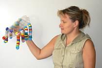 Mezi prvními výrobky, které děti do soutěže Pohádkový zvěřinec zaslaly, byl například pavouk Vršáček.